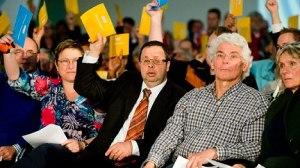 Terphuis stemt voor bij de Ledenraad