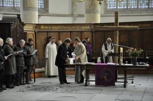 Avondmaal in de Oude Kerk, 2013
